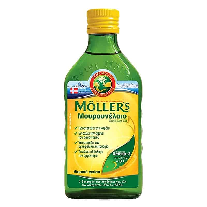 mollers mourounelaio me geush natural 250ml