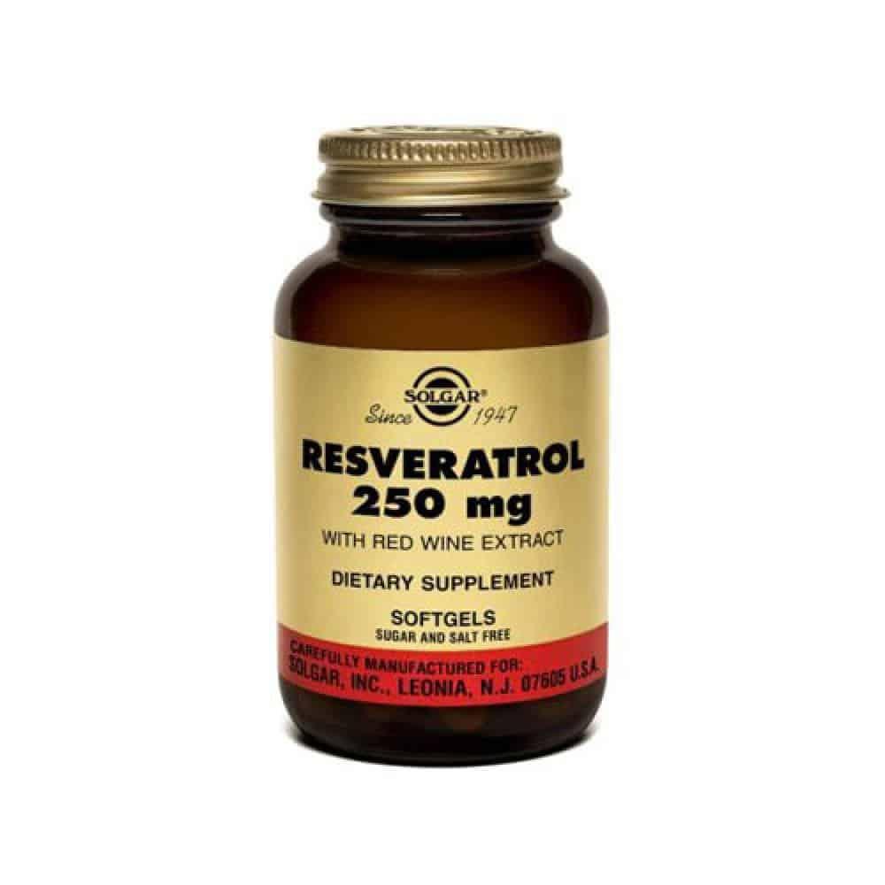 solgar resveratrol 250mg 30cap αντιοξειδωτική