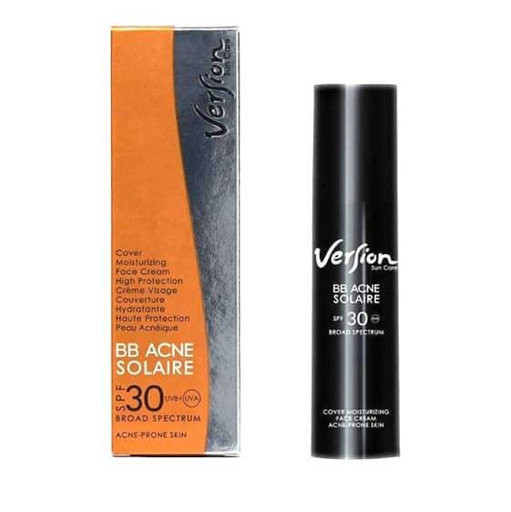 version bb acne solaire spf 30 50ml