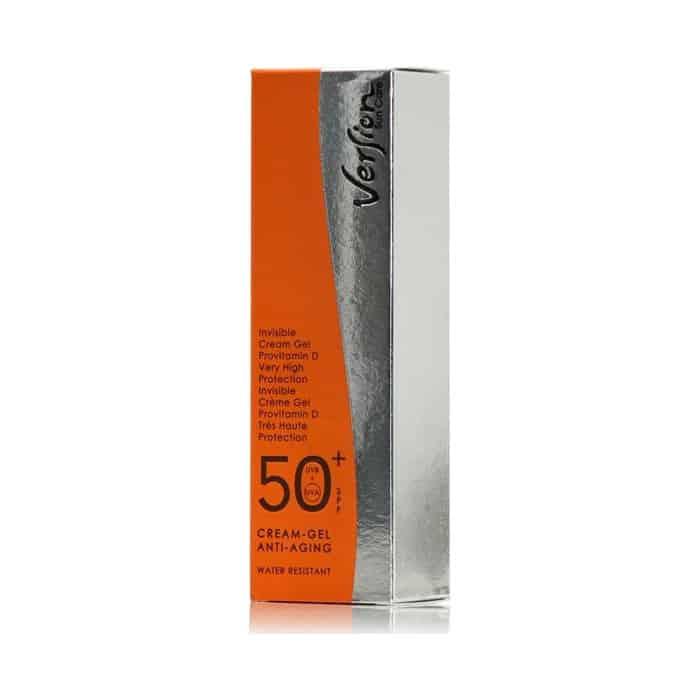 version invisible cream gel Αnti aging spf 50 50 ml