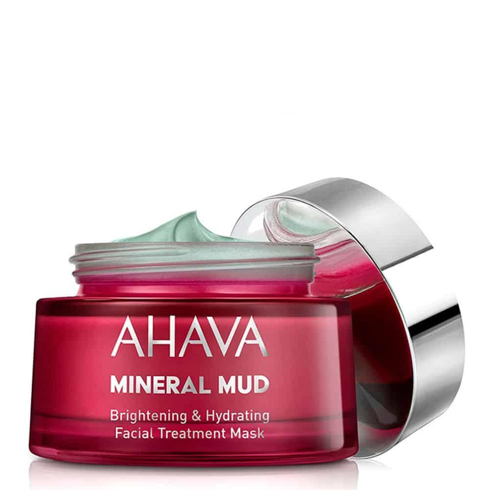 Ahava Mineral Mud Brightening Hydrating Facial Treatment Mask 50ml