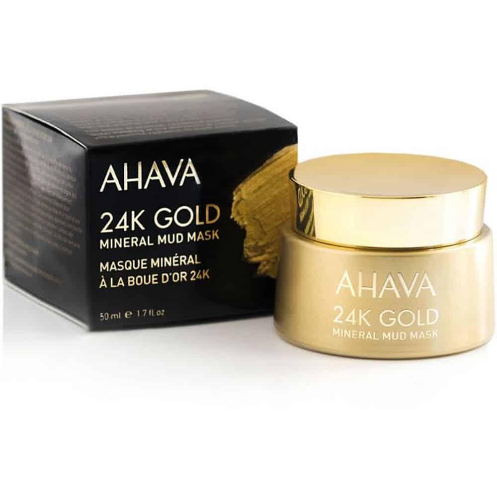 Ahava Mineral Mud Mask 24K Gold 50ml