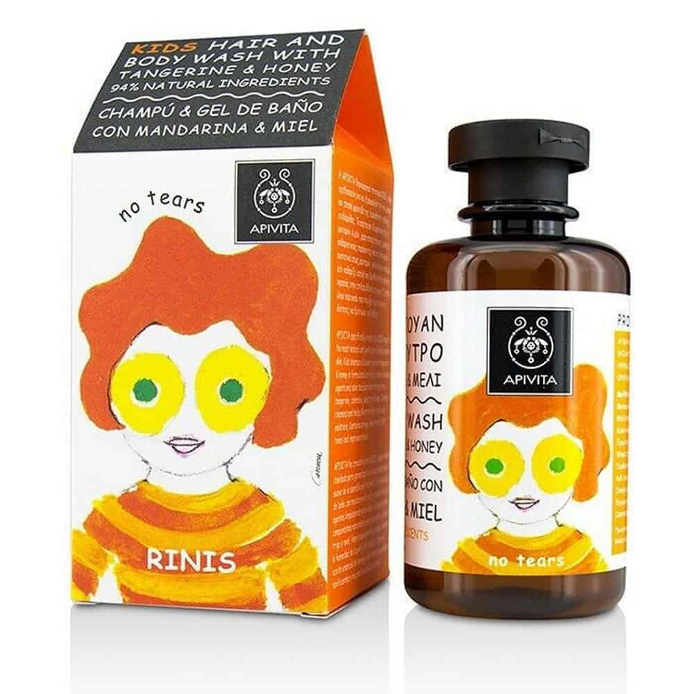 Apivia Kids Hair Body Wash Madarine 250ml