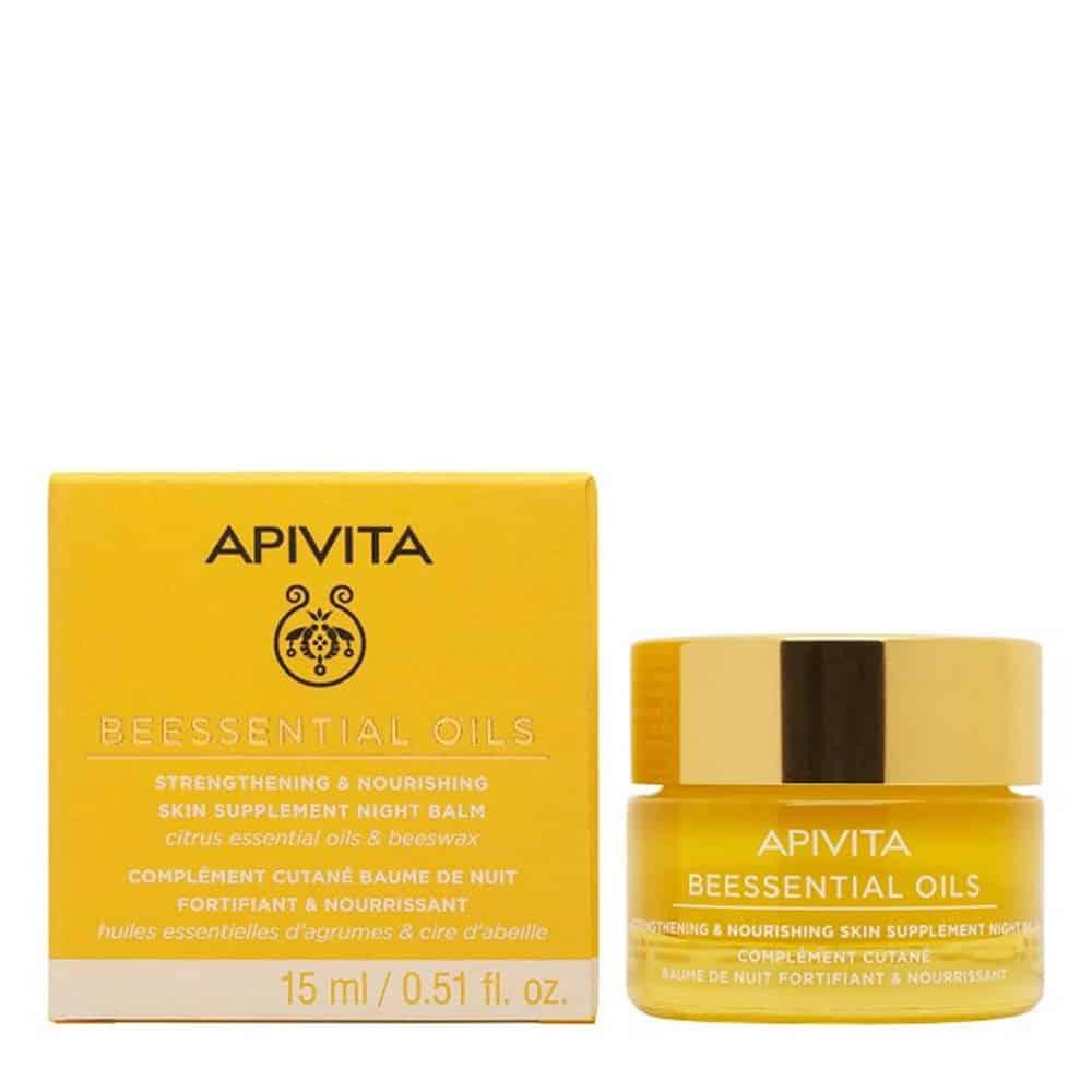 Apivita Βeessential Οils Βalm Night Cream 15ml