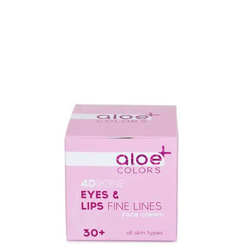 Eyes and Lips Cream for fine lines Aloe+Colors