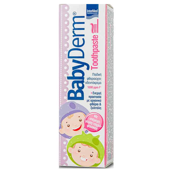 Intermed Babyderm Toothpaste 1000ppm 50ml