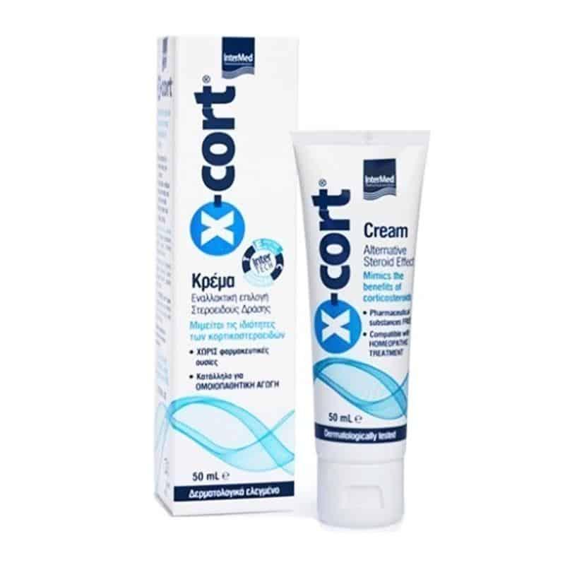 Intermed X-Cort cream alternative sreroid effect 50 ml