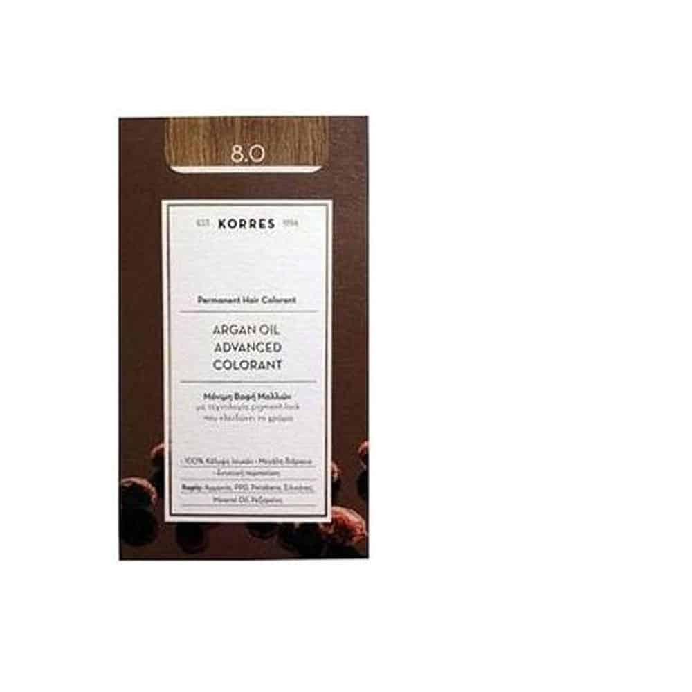 Korres Argan Oil Color Hair 8.0 50ml