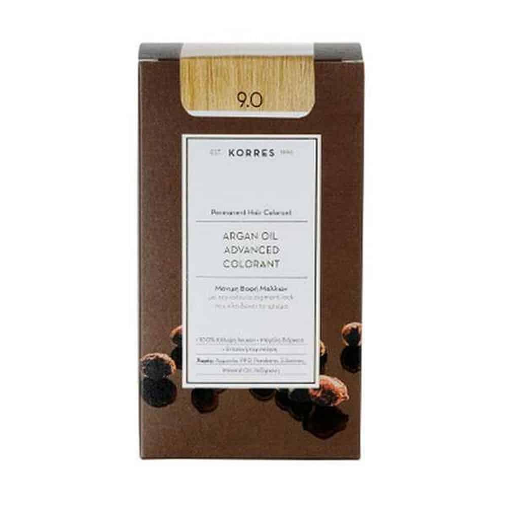 Korres Argan Oil Color Hair 9.0 50ml
