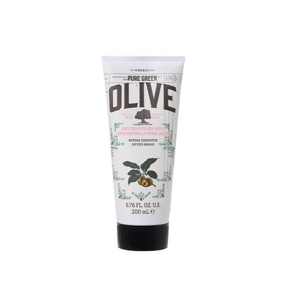 Korres Pure Greek Olive Body Cream Golden Apple 200ml