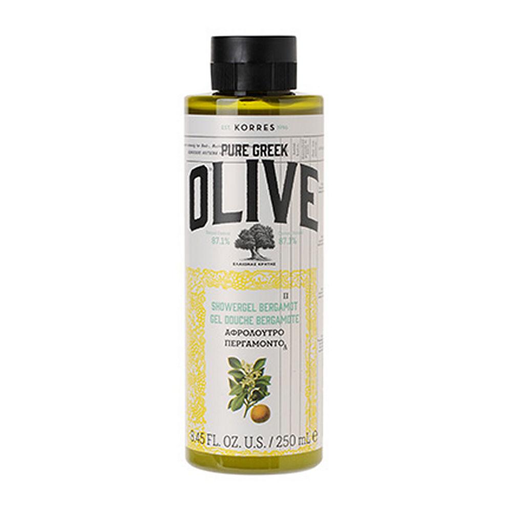 Korres Pure Greek Olive Shower Gel Bergamont 250ml