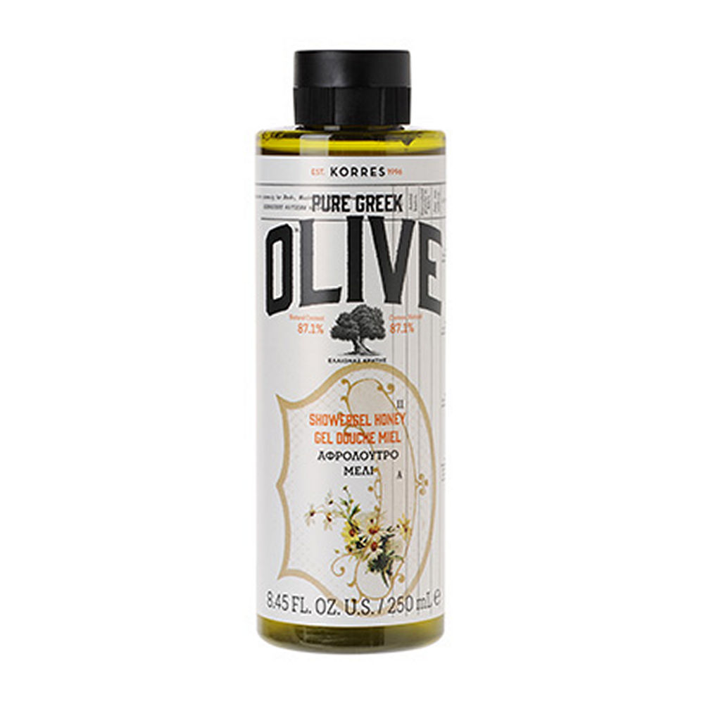 Korres Pure Greek Olive Shower Gel Honey 250ml