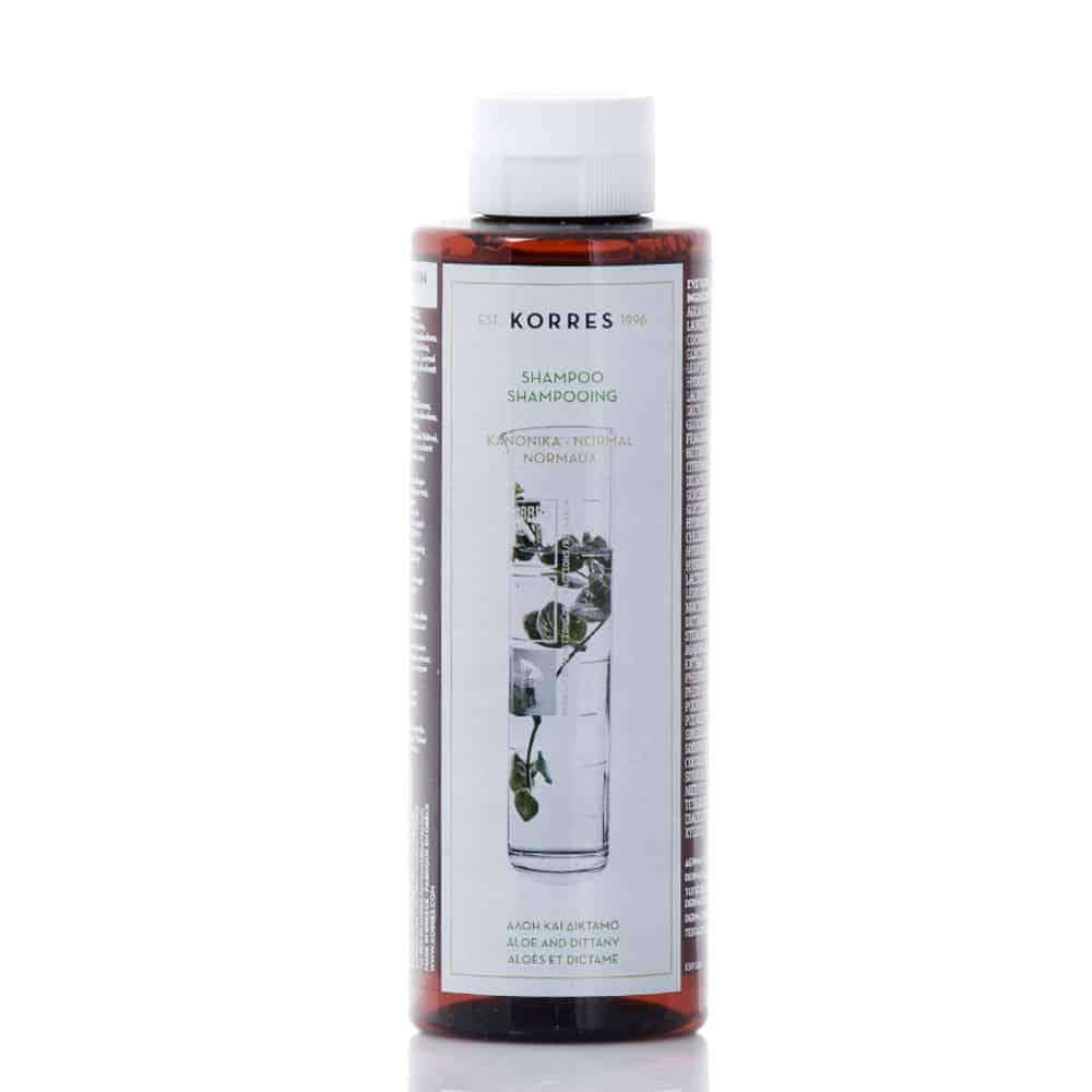 Korres Shampoo Aloe And Dittany 250ml