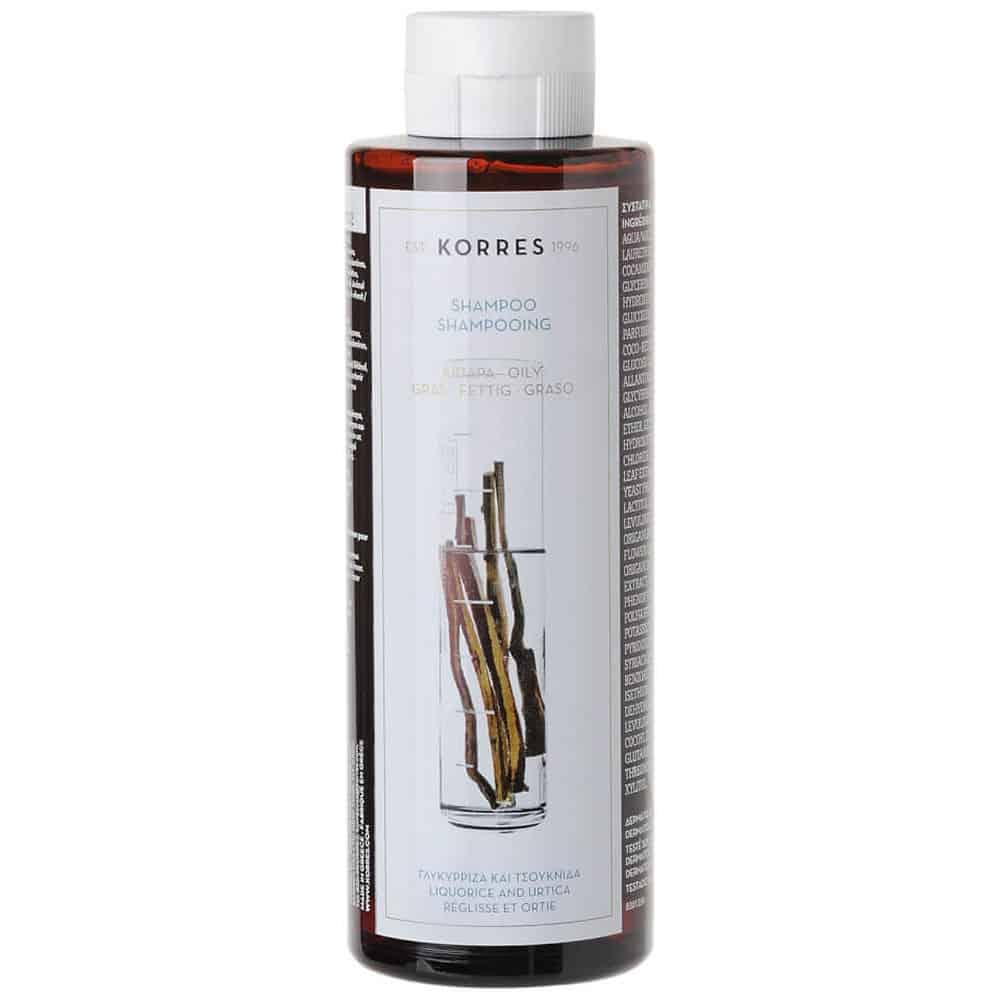 Korres Shampoo Liquorice And Urticsa 250ml