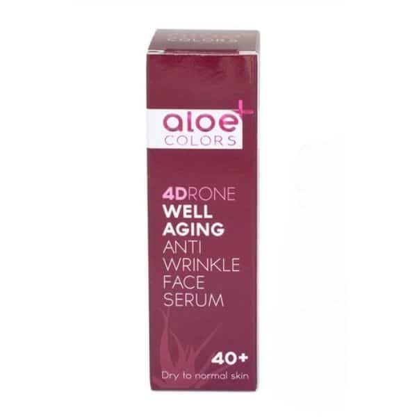 aloe colors 4DRONE well aging antiwrinkle face serum