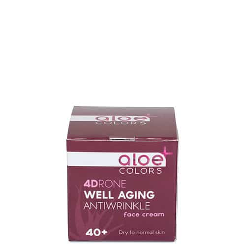 aloe colors well aging face