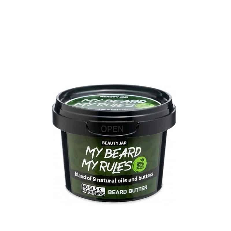 beauty jar my beard my rules beard butter 90gr
