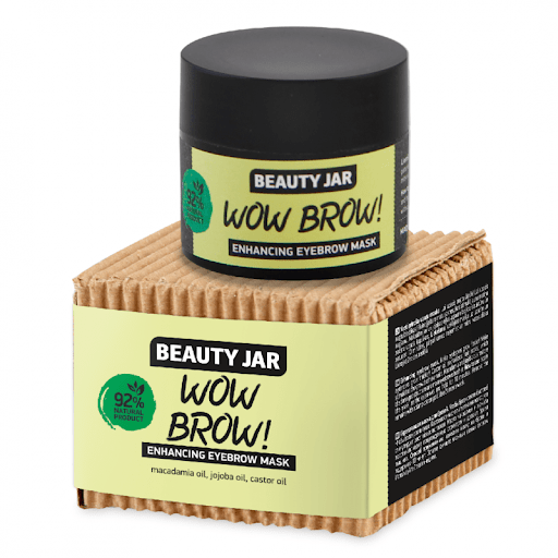 beauty jar wow brow enhancing eyebrow mask 15 ml