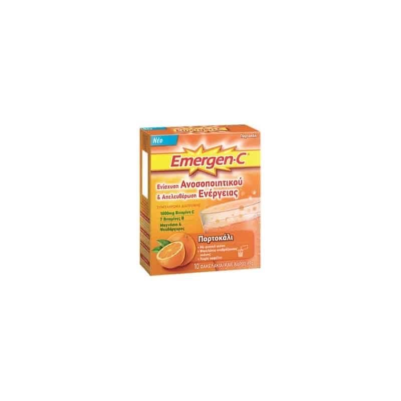 emergen c vitamin c αναβραζουσα 10φακελακια