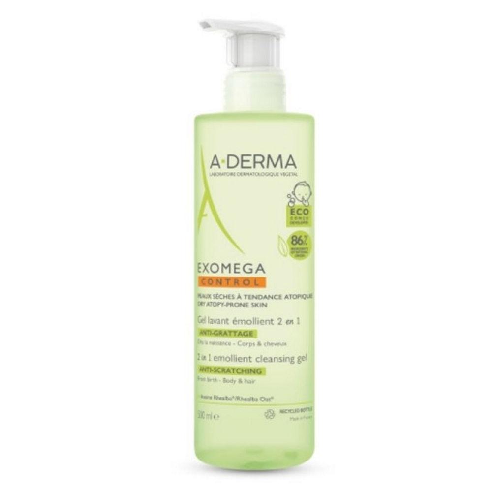 A-Derma Exomega Control Emollient Cleansing Gel 2 in 1500ml
