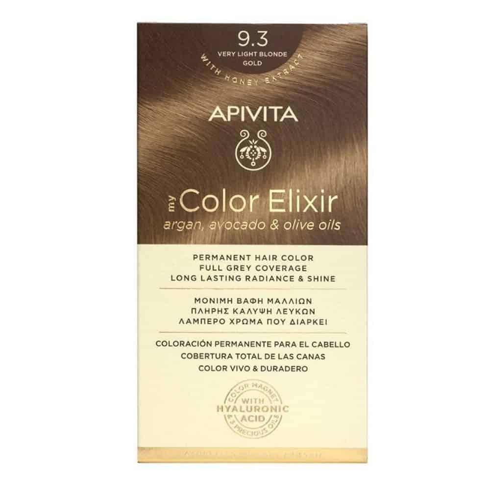 Apivita My Color Elixir 9.3 Ξανθό Πολύ Ανοιχτό Μελί