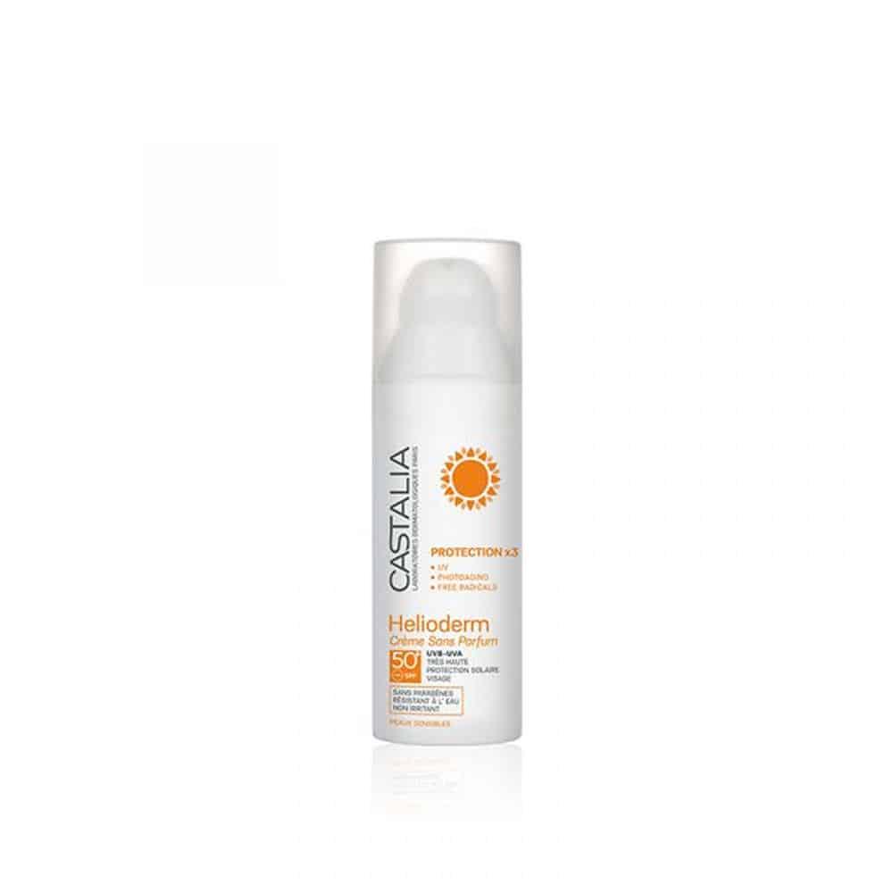 Castalia Helioderm Crème Sans Parfum SPF 50+ 50ml