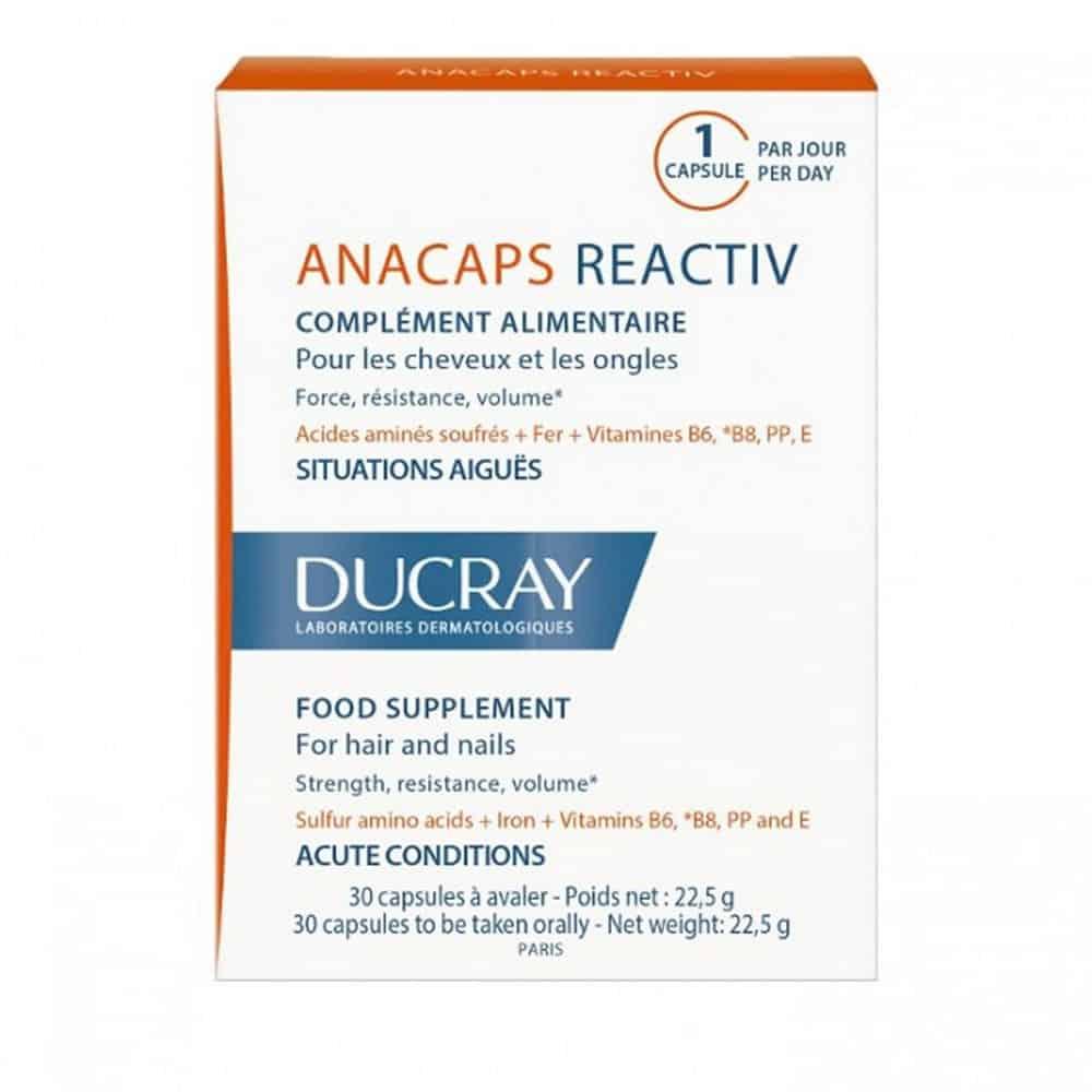 Ducray Anacaps Reactiv 30 caps