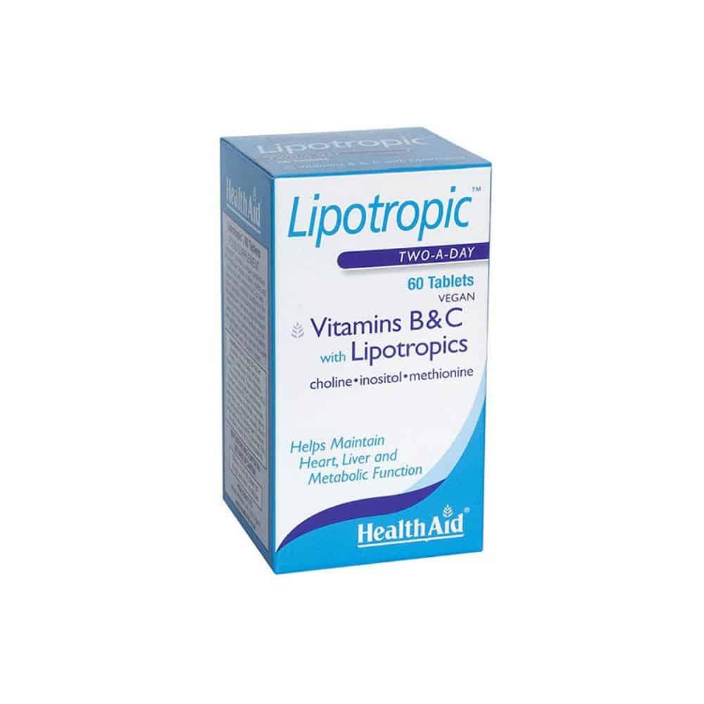 Health Aid Lipotropic 60tbs