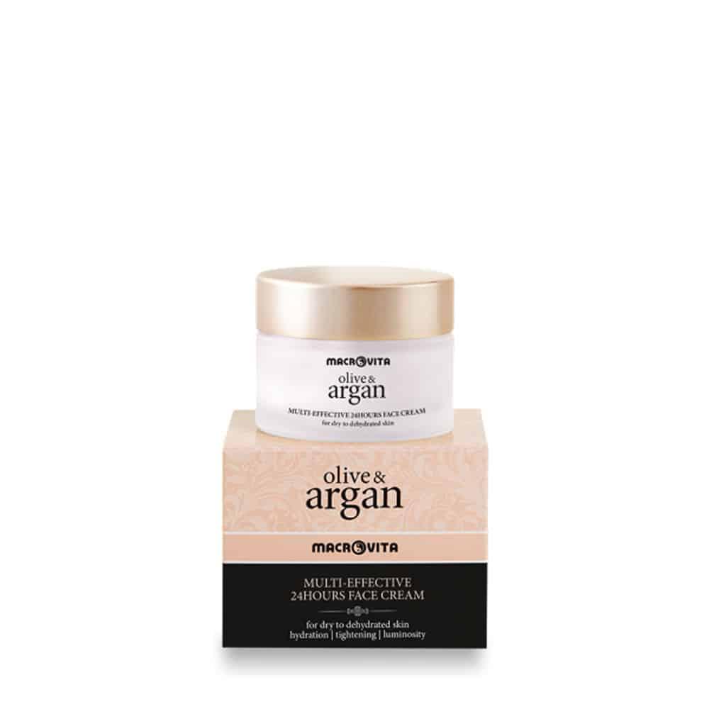 Macrivita Multi Effective 24hours Face Cream Argan Dry Dehydrated 50ml