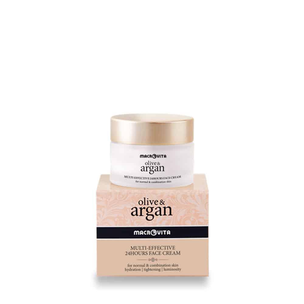 Macrovita Multi Effective 24Hours Face Cream Argan Normal Combination 50ml