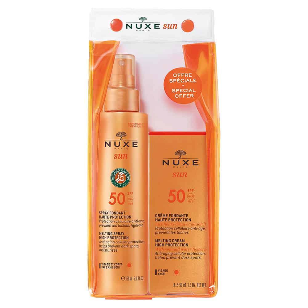 Nuxe Sun Promo Face Cream Body Lait SPF 50