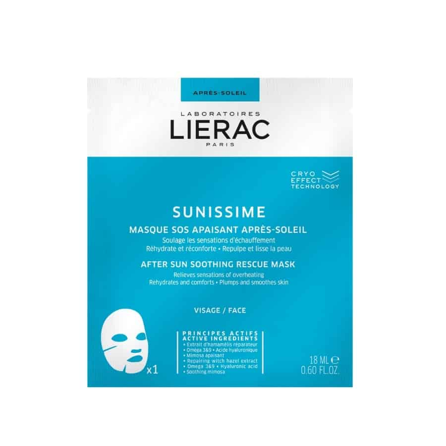 LIERAC SUNISSIME MASK AFTER SUN ΝΕΑ ΜΑΣΚΑ ΕΝΥΔΑΤΩΣΗΣ