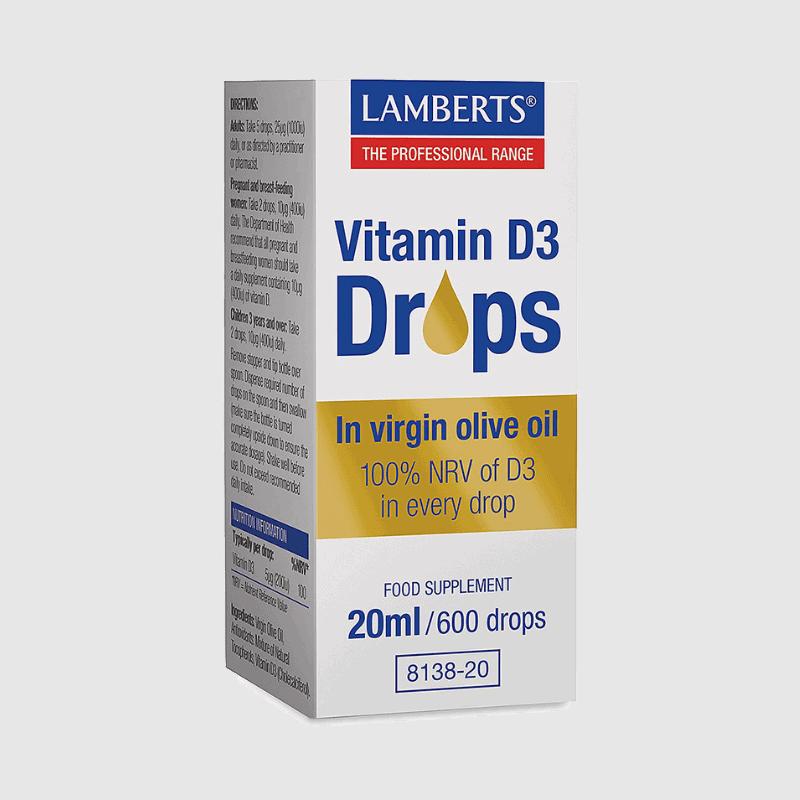 Lamberts D3-drops