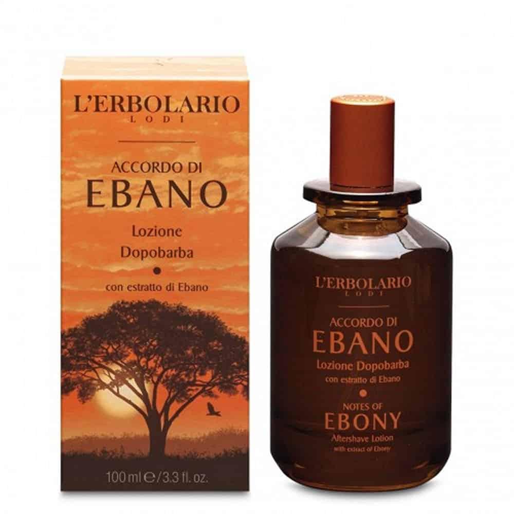 L'erbolario Aftershave Lotion Accordo Di Ebano 100ml