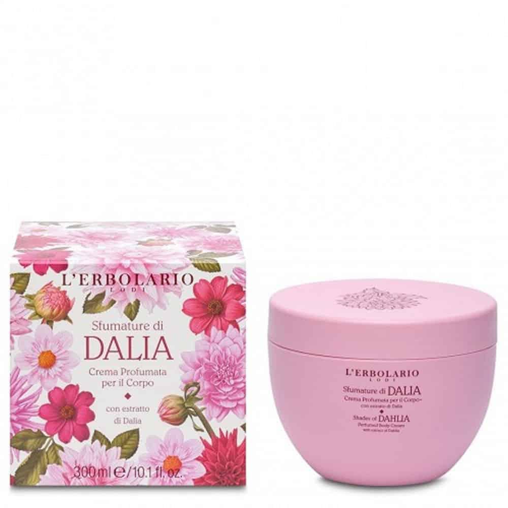 L'erbolario Body Cream Of Dahlia 300ml