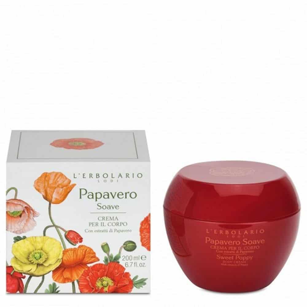 L'erbolario Body Cream Papavero 200ml