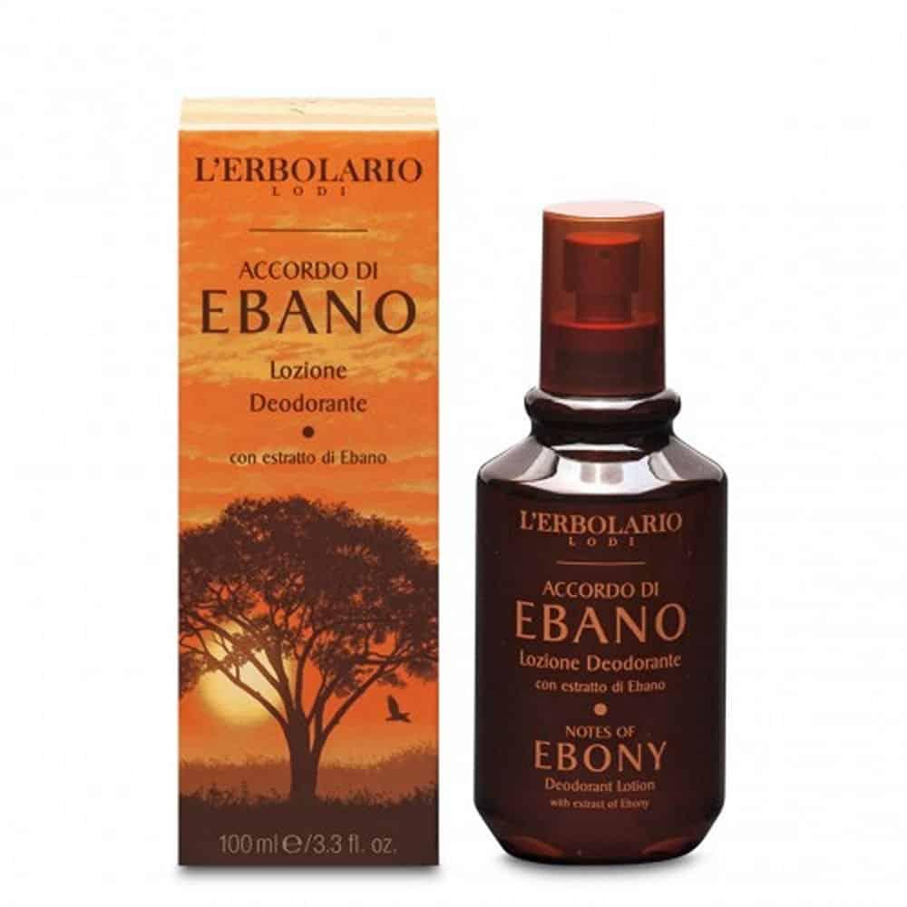 L'erbolario Deodorant Lotion Accordo Di Ebano 100ml