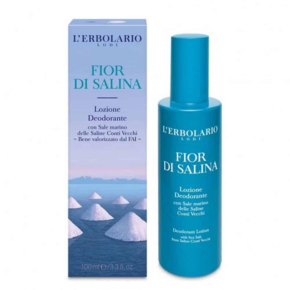 L'erbolario Deodorant Lotion Fior Di Salina 100ml