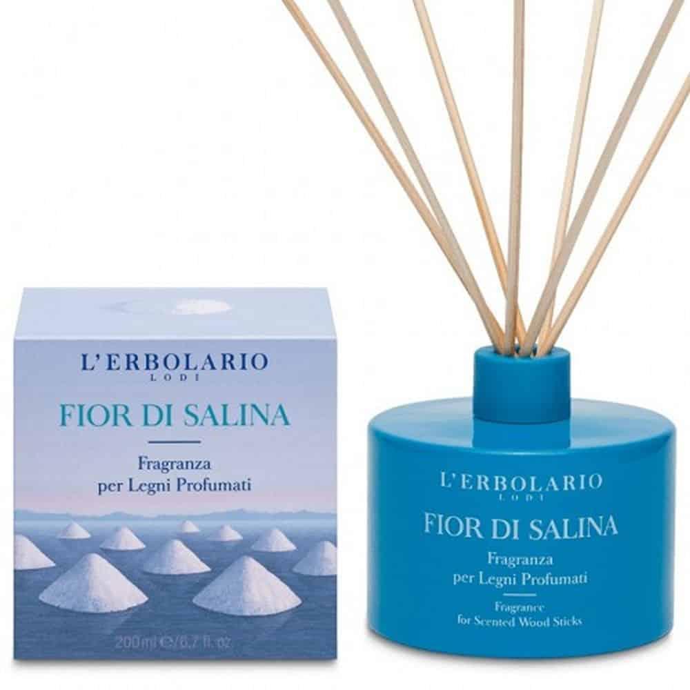 L'erbolario Fragrance For Scented Wood Sticks Fior Di Salina 200ml