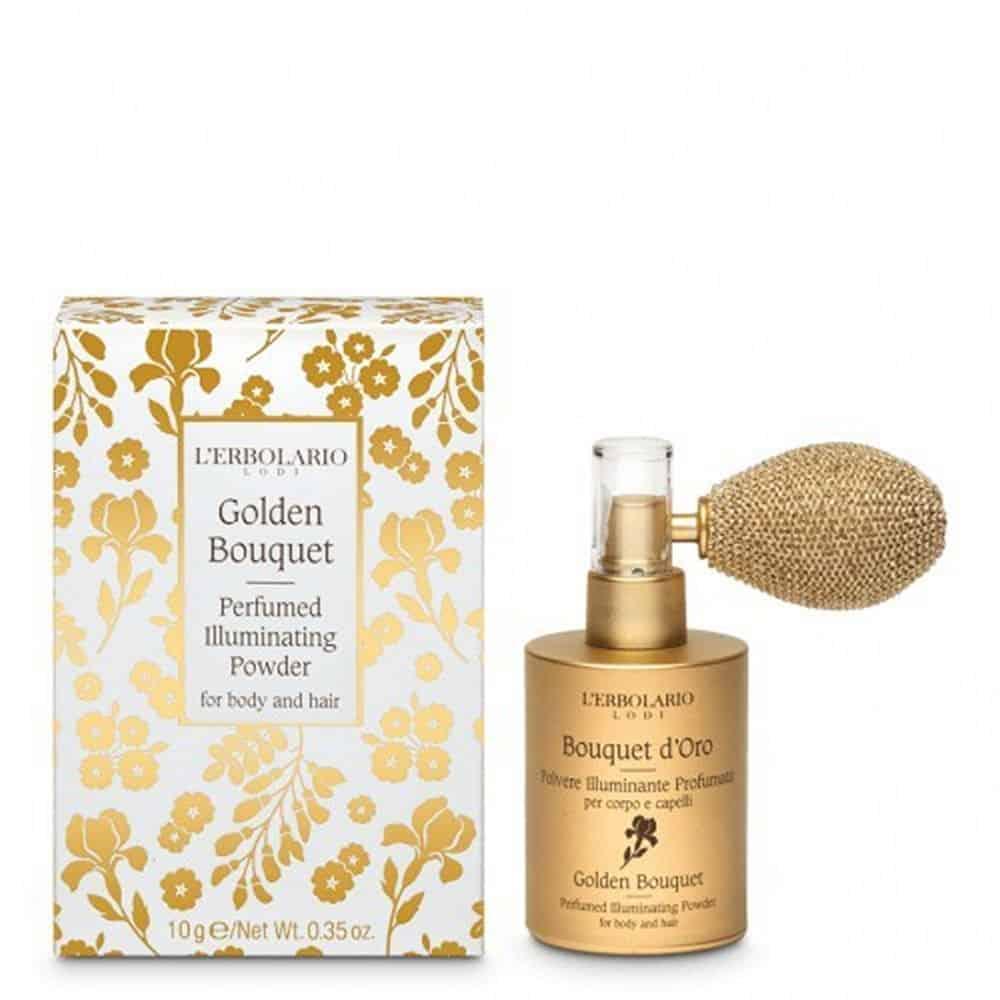L'erbolario Perfume Illuminating Powder Bouquet D'Oro 10gr