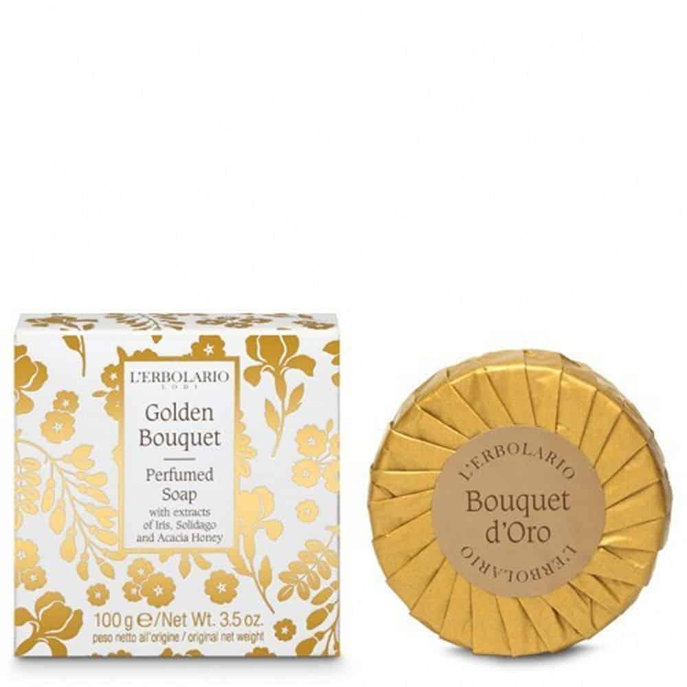 L'erbolario Perfume Soap Bouquet D'Oro 100gr