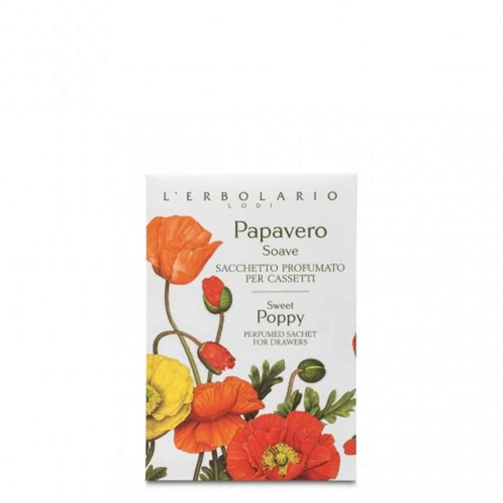 L'erbolario Perfumed Sachet For Drawers Papavero