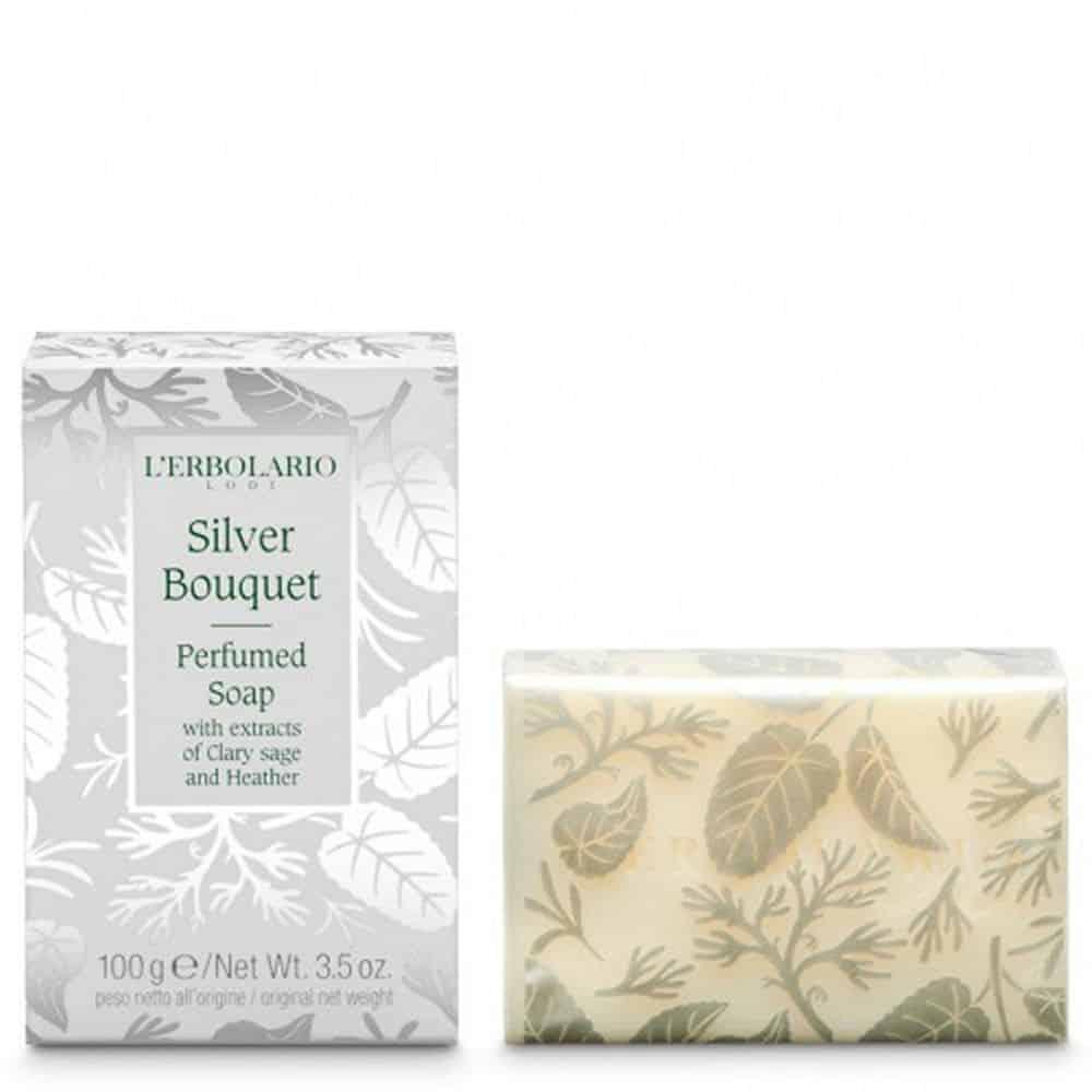 L'erbolario Perfumed Soap Bouquet D Argento 100gr