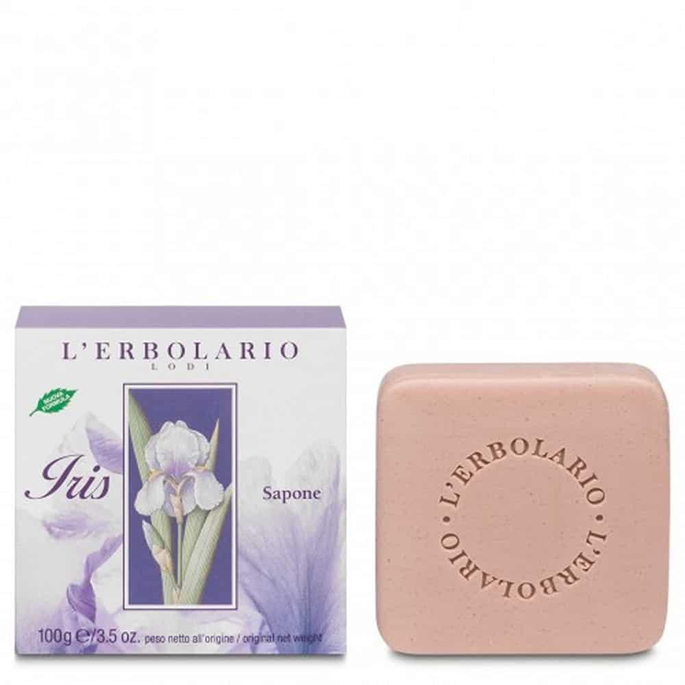 L'erbolario Perfumed Soap Iris 100gr