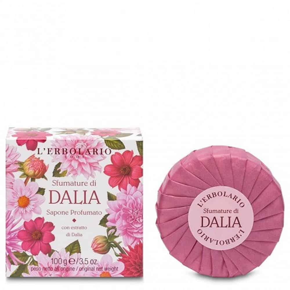L'erbolario Perfumed Soap Of Dahlia 100gr