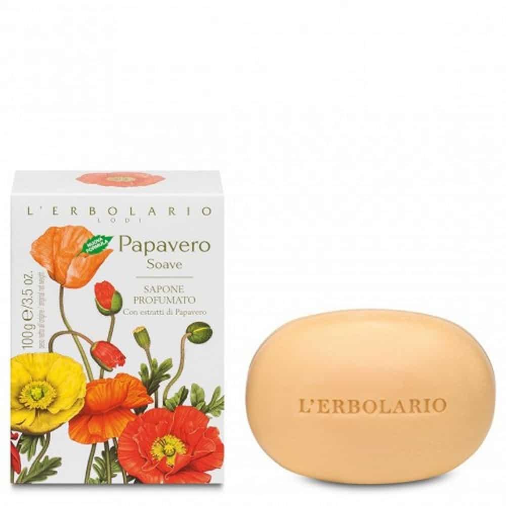 L'erbolario Perfumed Soap Papavero 100gr