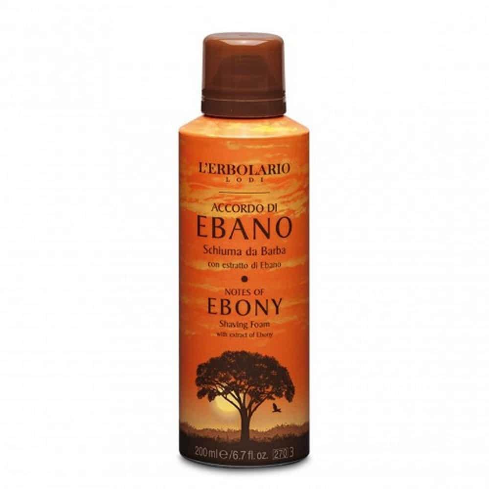 L'erbolario Shaving Foam Accordo Di Ebano 200ml