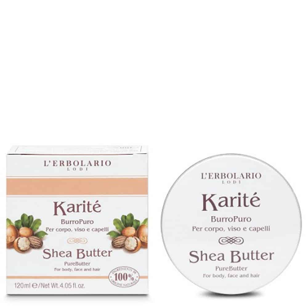 L'erbolario Shea Butter Karite Face Body Hair 120ml