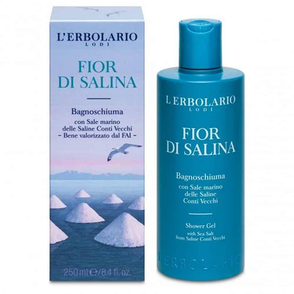 L'erbolario Shower Gel Fior Di Salina 250ml