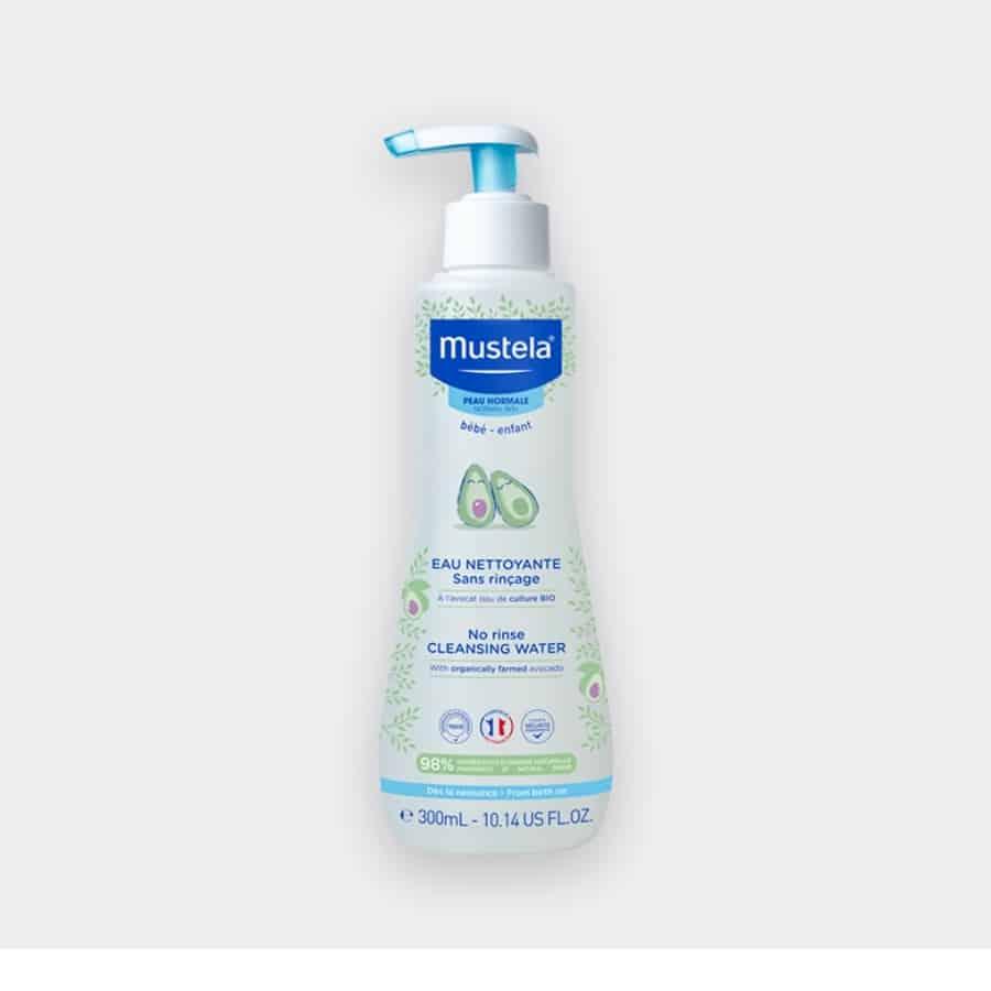 Mustela No-Rinse Cleansing Water with Organic Avocado 300ml
